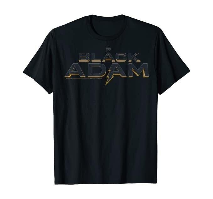 black adam logo shirt dc fandome