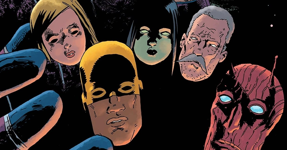 black hammer cinematic universe cover