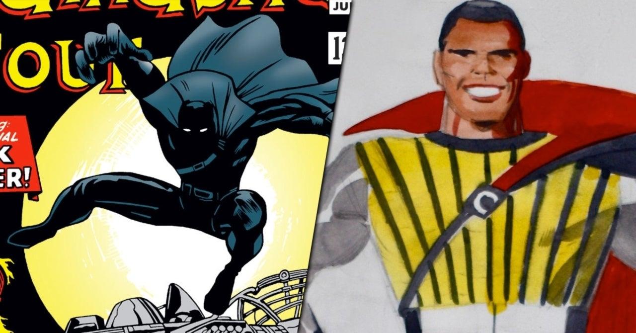 Jack Kirby S Grandson Shares Earliest Black Panther Art