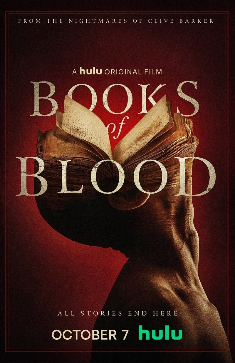 books of blood poster