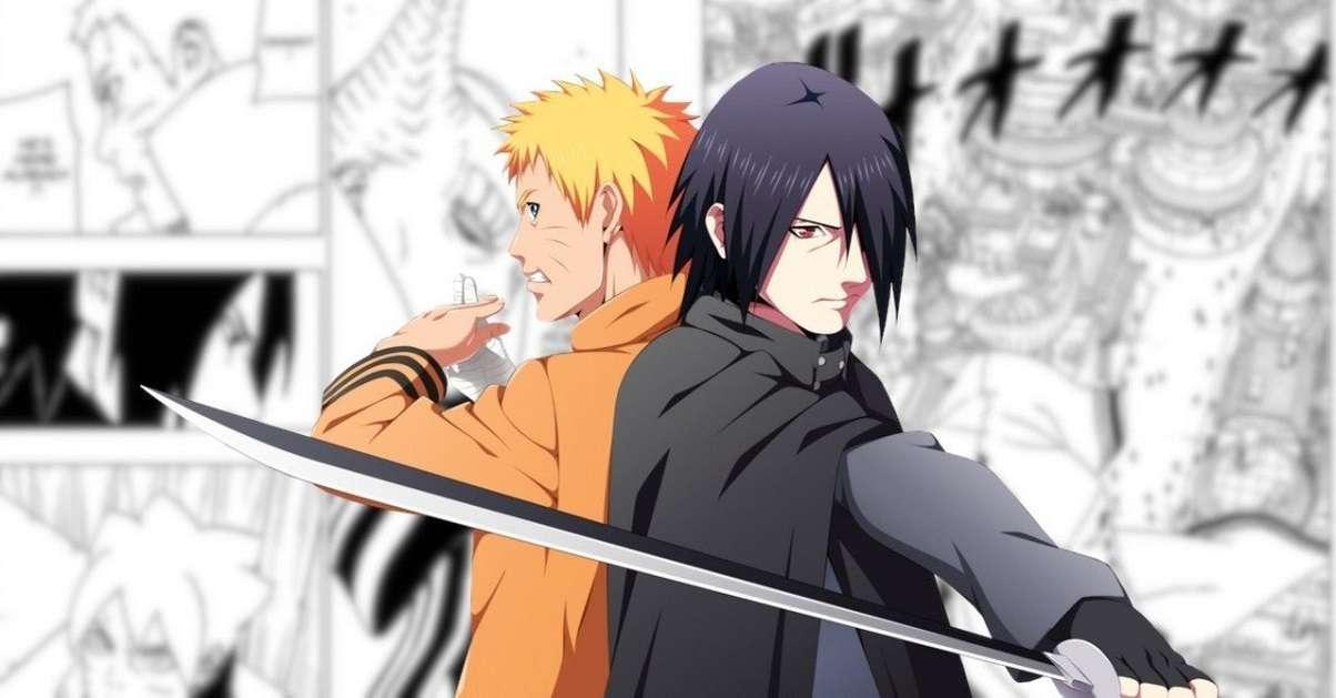 Boruto Naruto Sasuke Manga Team Up