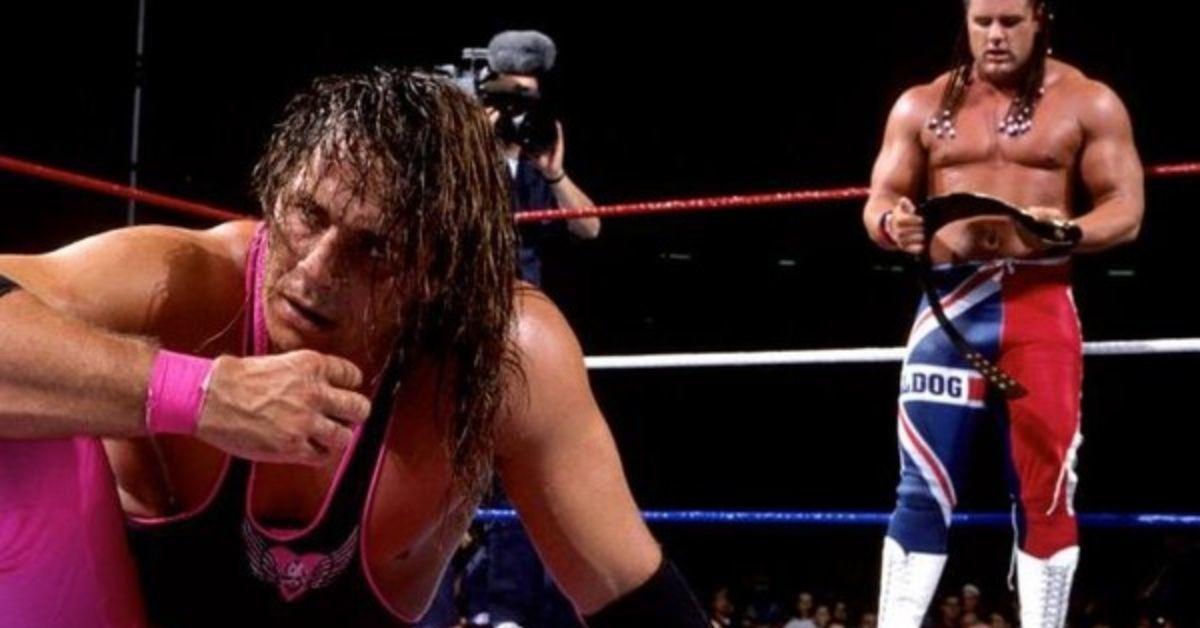 Bret Hart British Bulldog WWE SummerSlam
