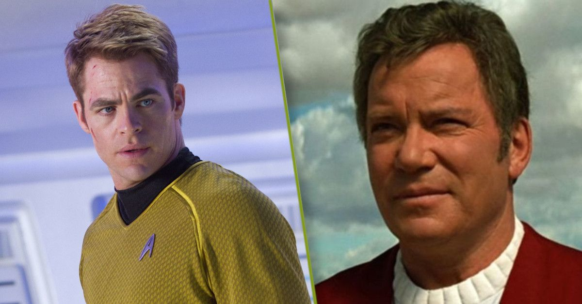 Captain Kirk Chris Pine William Shatner
