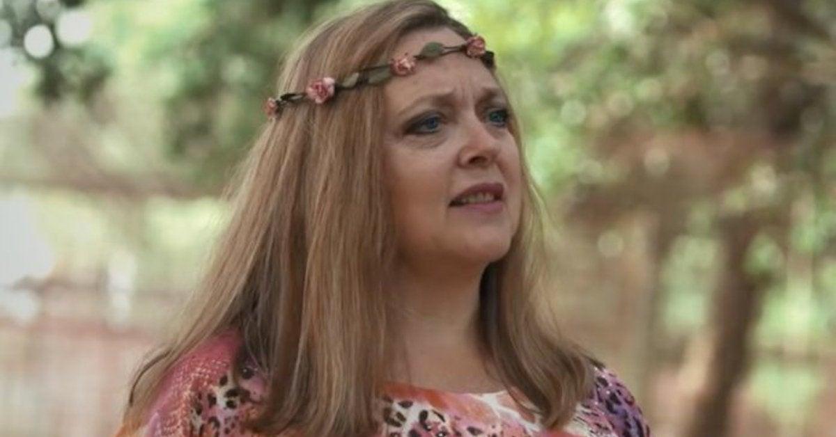 Carole Baskin Responds Kate McKinnon Tiger King TV Series