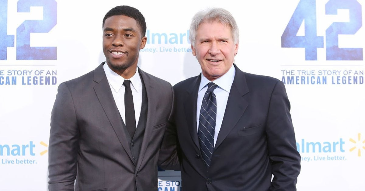 chadwick boseman harrison ford getty images