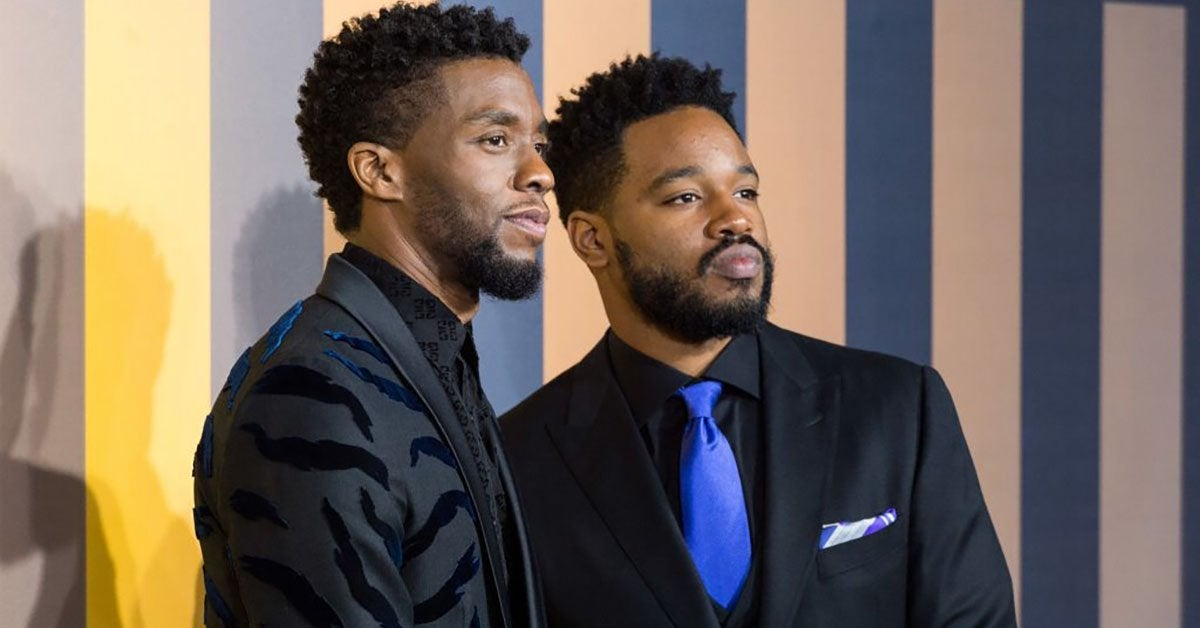 chadwick boseman ryan coogler getty images
