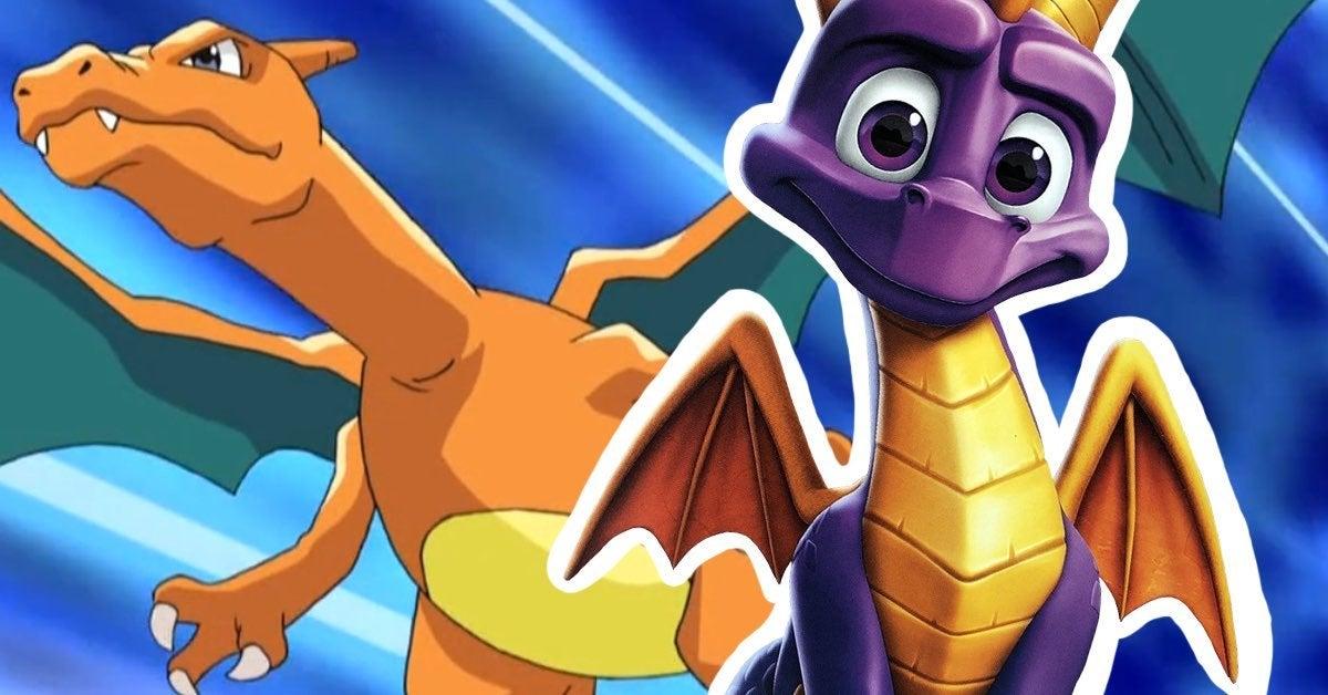 charizard spyro pokemon