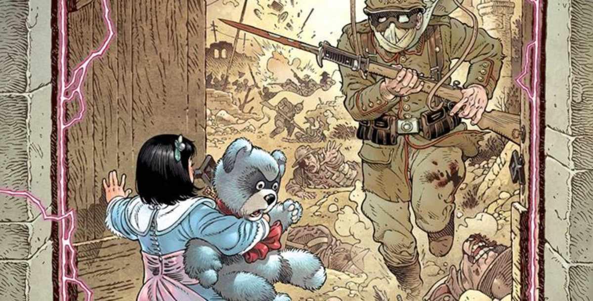 Comic Reviews - Locke & Key In Pale Battalions Go #1