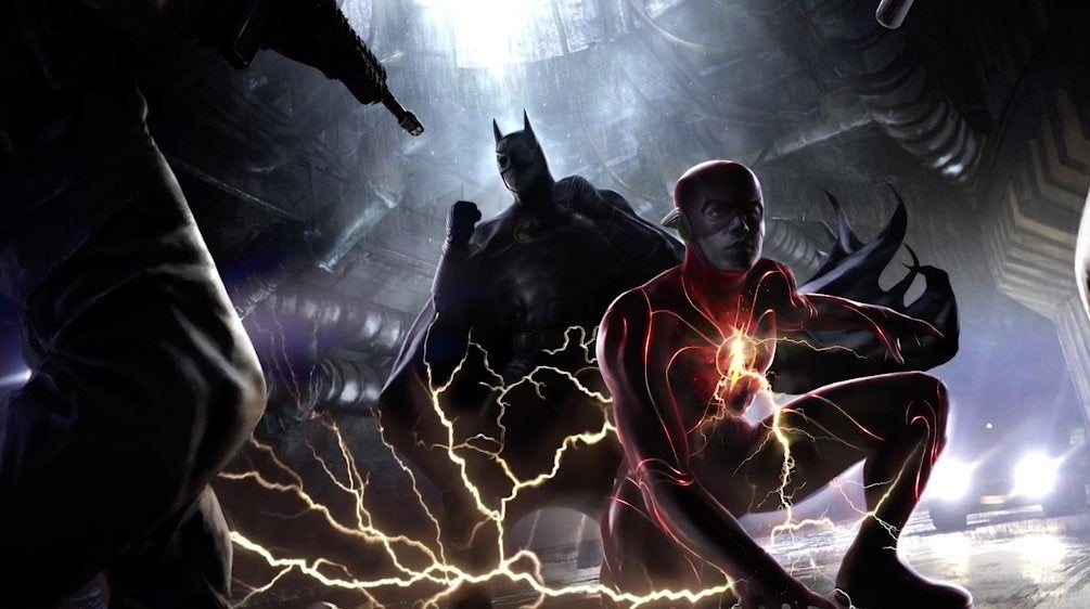 concept flash batman micheal keaton