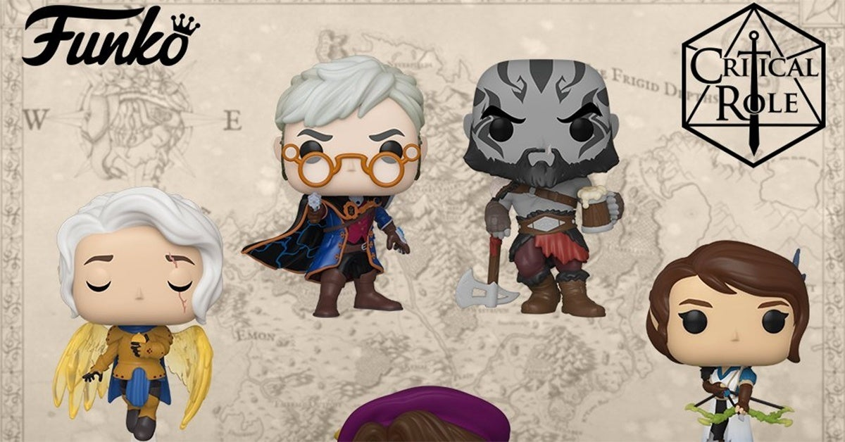 crit role funko hed