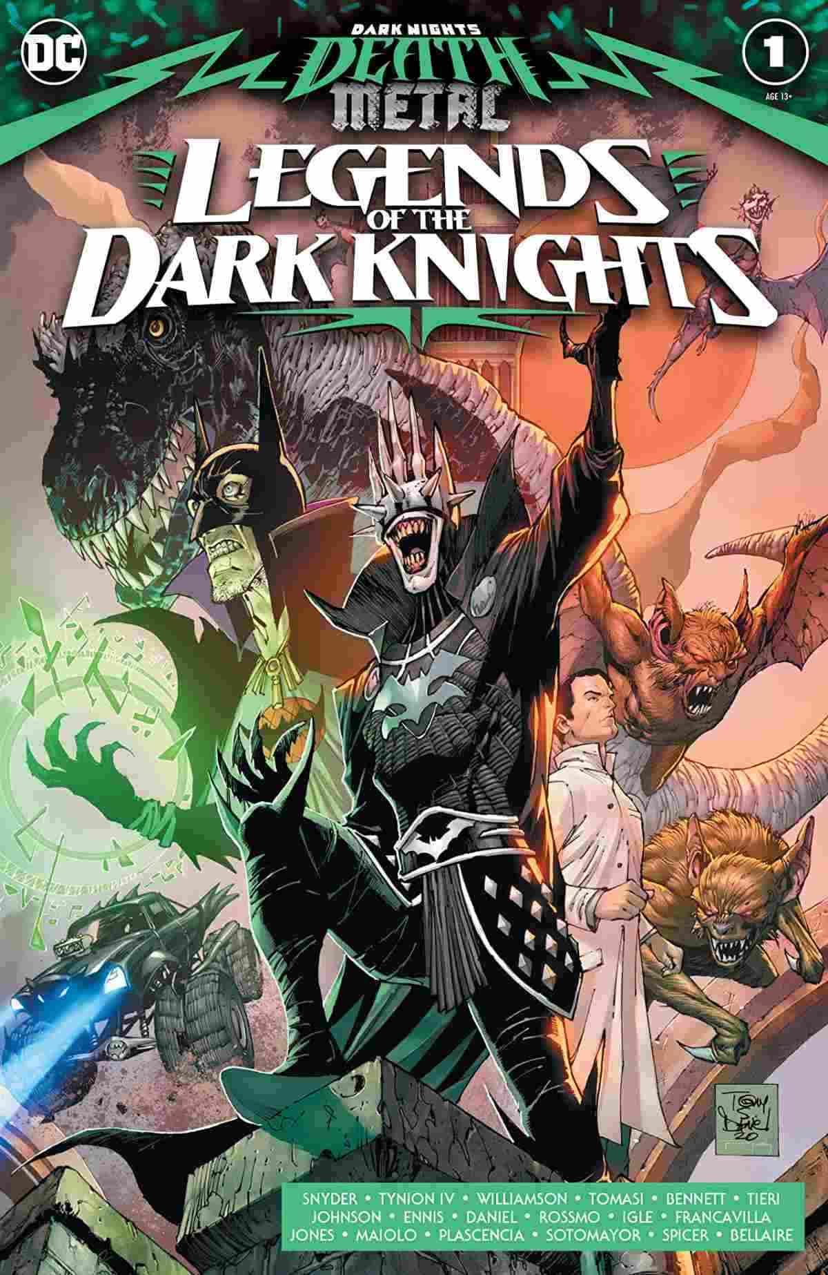 Dark Nights Death Metal Legends of the Dark Knights #1