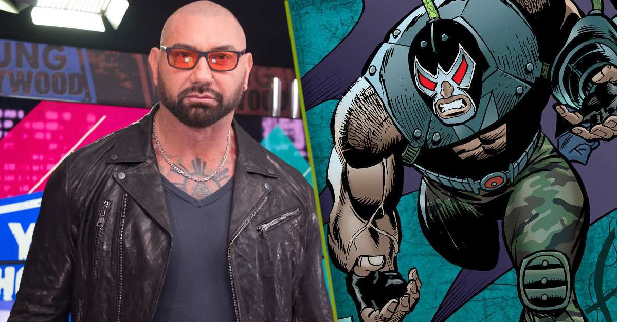 Dave Bautista Bane The Batman
