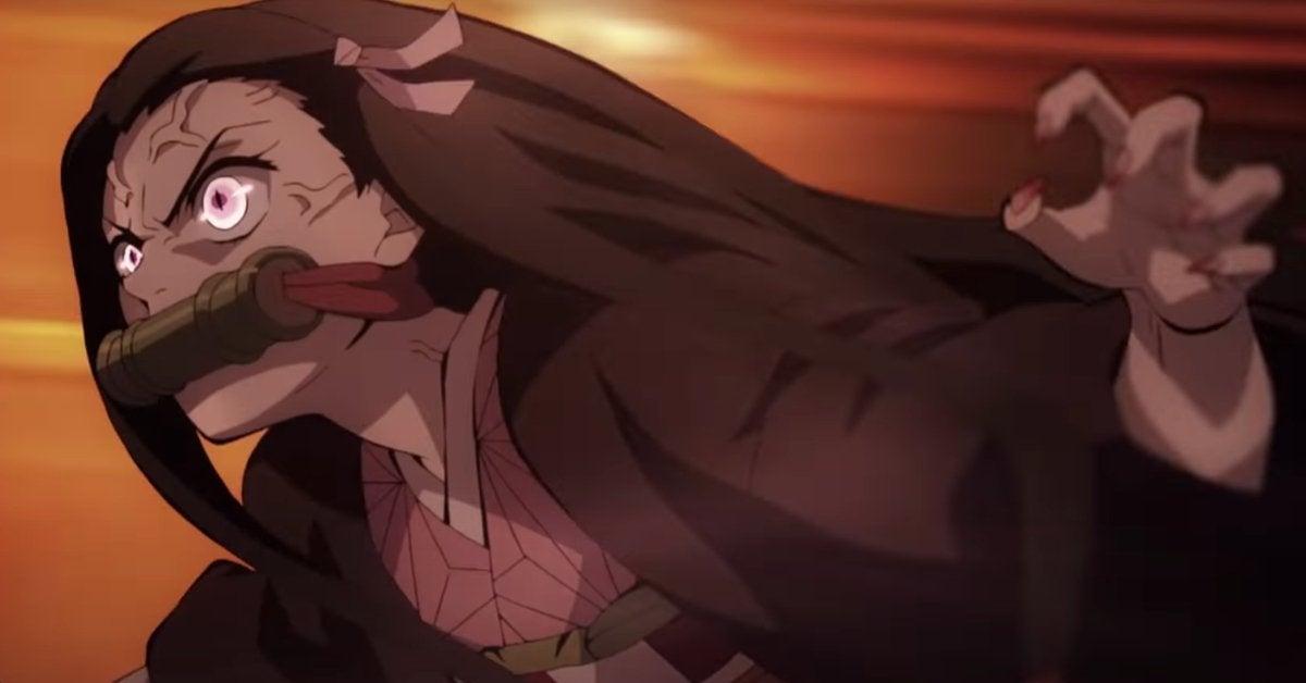 Demon Slayer Kimetsu no Yaiba The Movie Mugen Train Nezuko