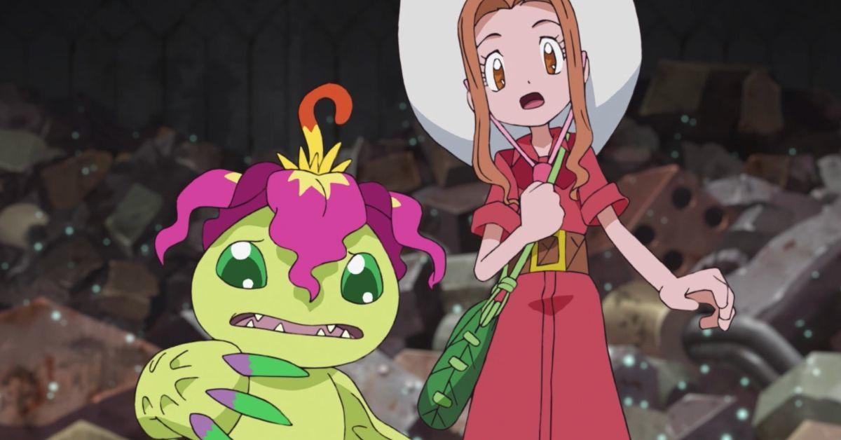 Digimon Adventure 2020 Mimi Palmon Anime Reboot