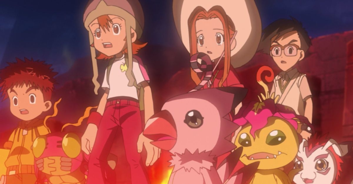 Digimon Adventure DigiDestined Shocked