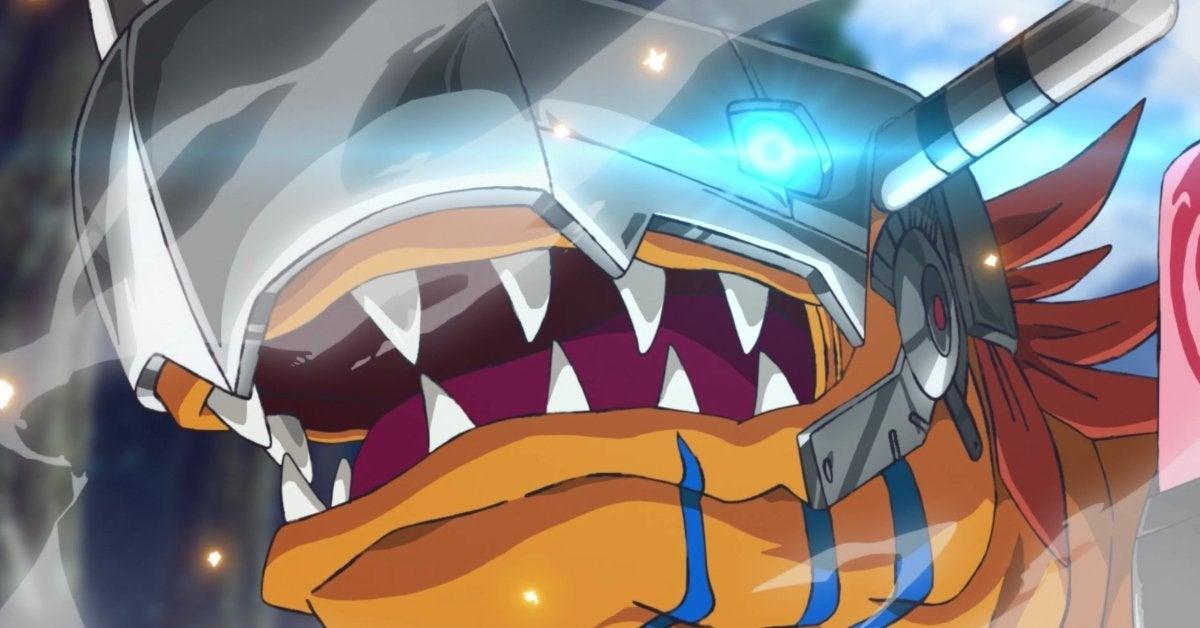 Digimon Adventure Reboot MetalGreymon Debut