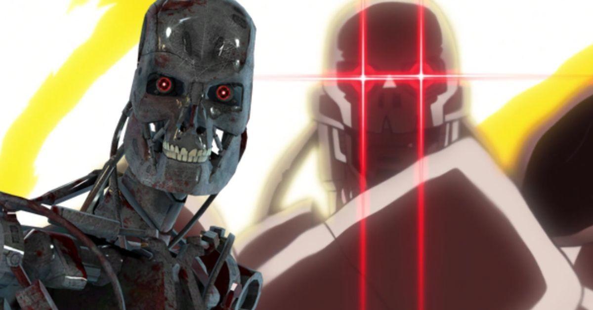 Digimon Adventure Terminator Andromon Attack Anime