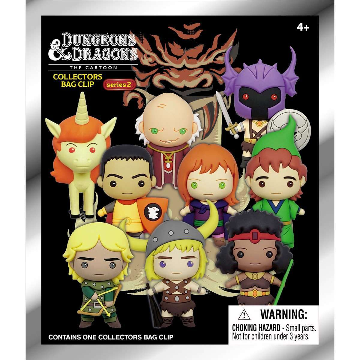 Dungeons and Dragons Dungeon Master Clip Cartoon Blind Bag Figural Keychain