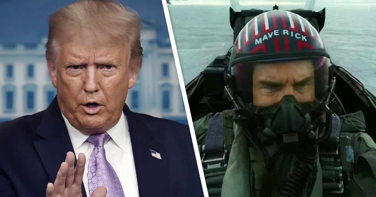 donald trump top gun maverick