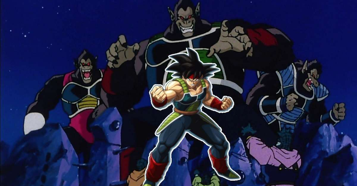 Dragon Ball Super Bardock Great ape