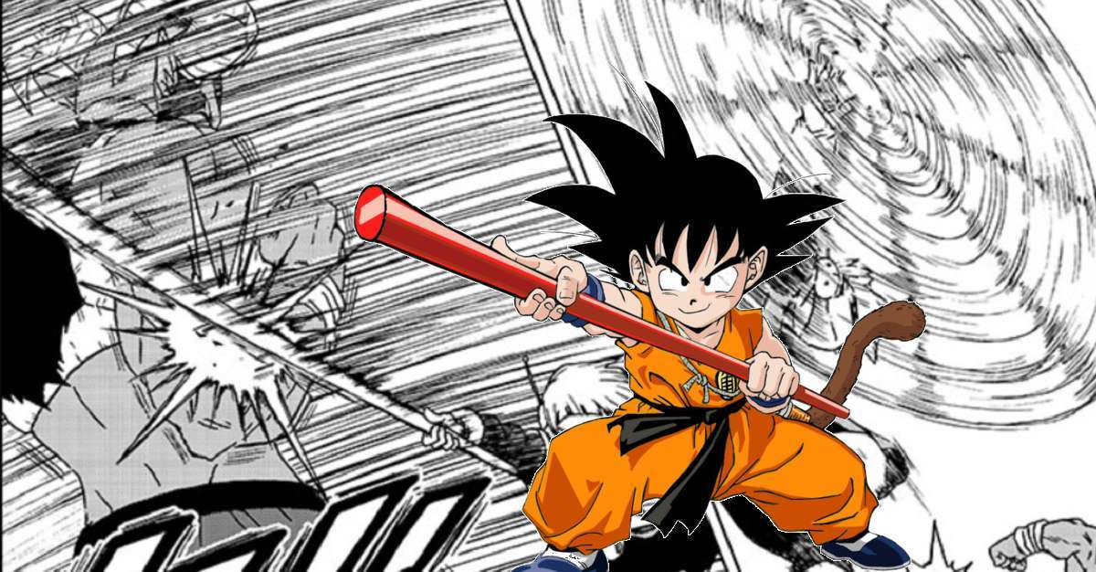 Dragon Ball Super Manga Merus Bowstaff