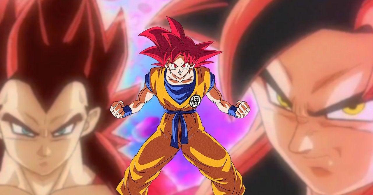 Dragon Ball Super Saiyan 4 God Connection Heroes Anime