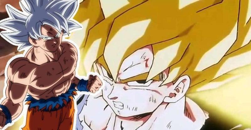 Dragon Ball Super Super Saiyan Ultra Instinct