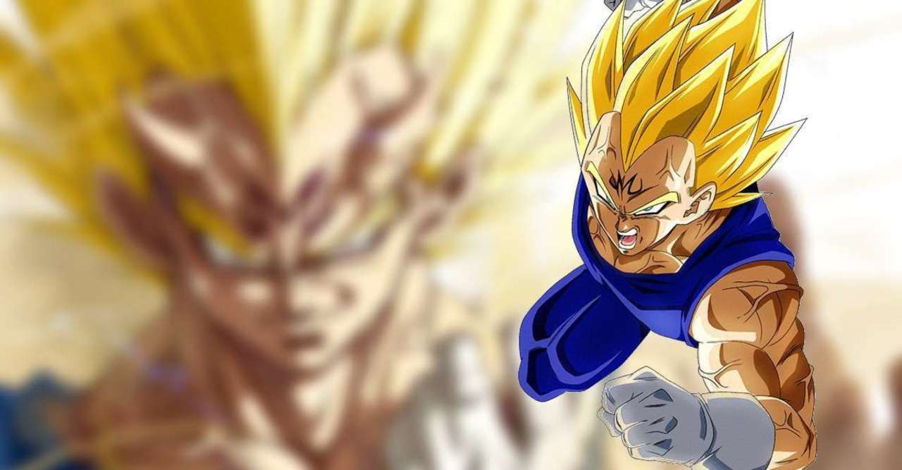 Dragon Ball Z Art Explores The Demonic Side of Majin Vegeta