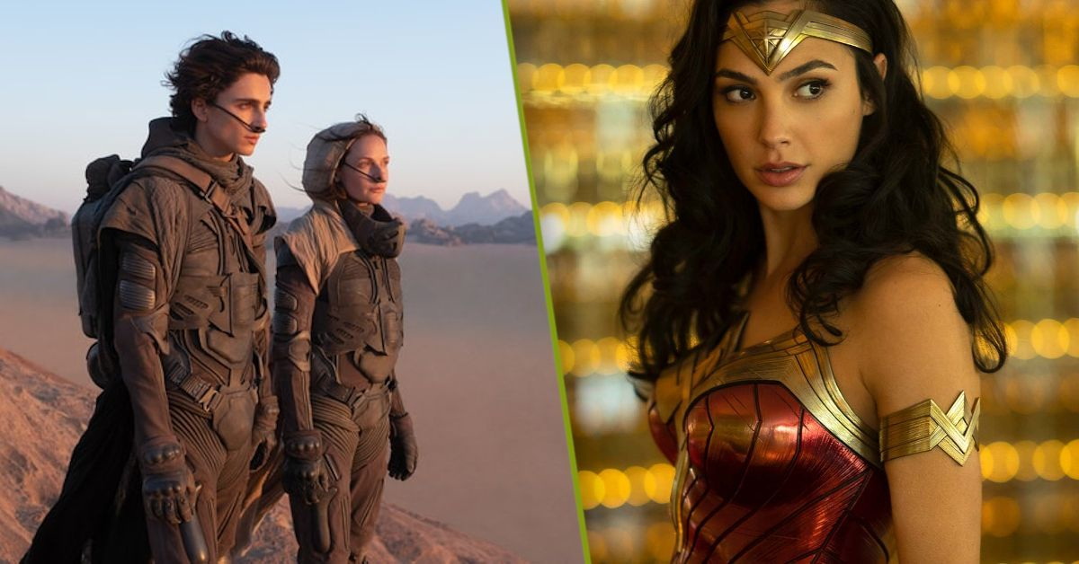 Dune Wonder Woman 1984 Trailers August Inception