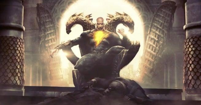 Dwayne Johnson Black Adam Movie