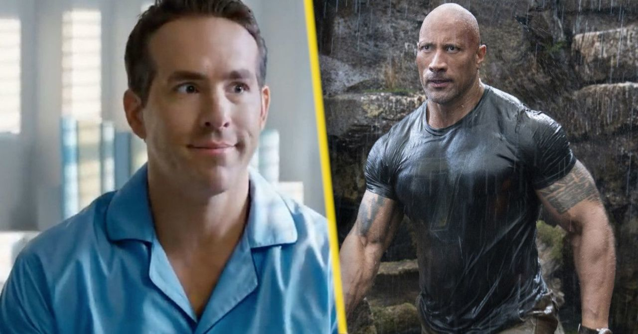 The Rock Shares New Red Notice Photo to Celebrate Ryan Reynolds' Birthday