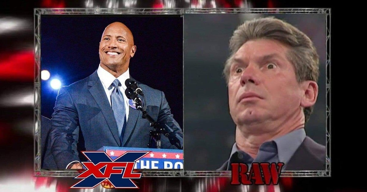 Dwayne Rock Johnson Buys XFL Fans React Vince McMahon