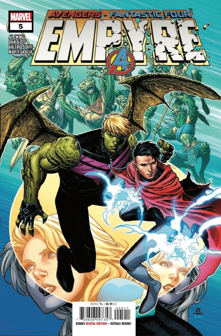empyre 5 exclusive preview hulkling wiccan cover