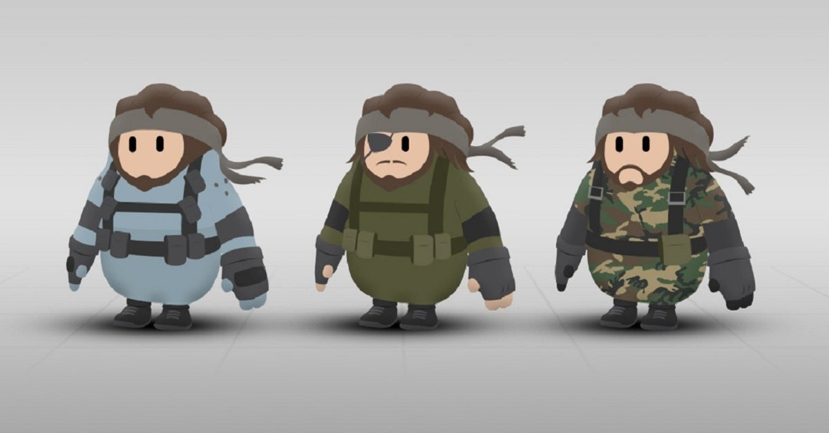 Fall Guys Metal Gear Solid