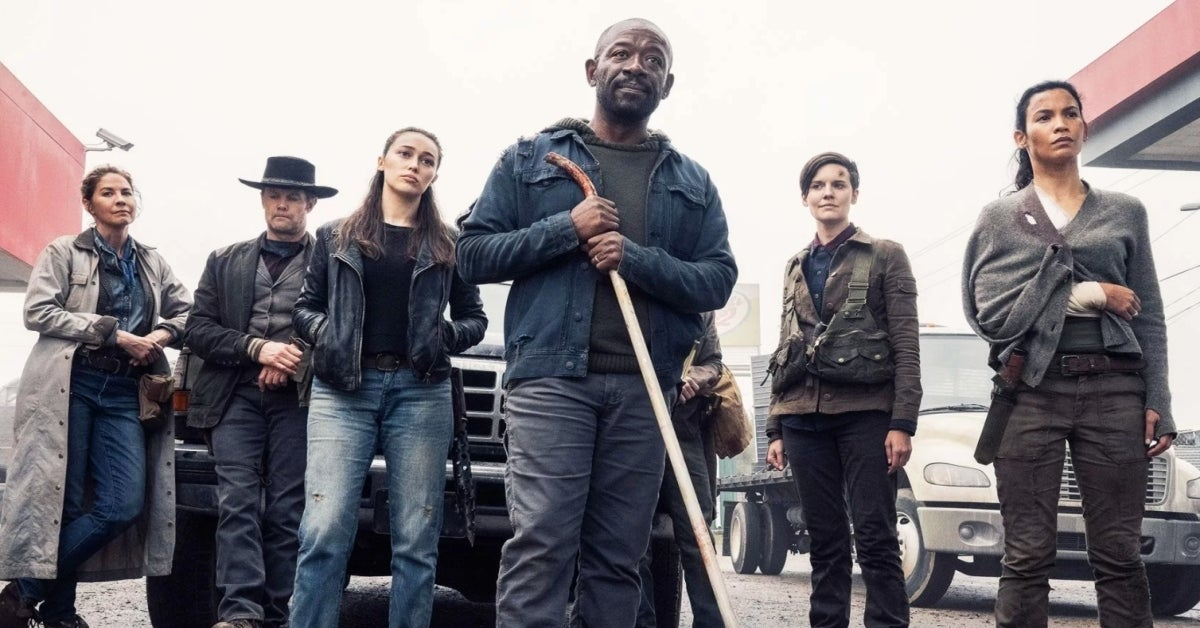 Fear the Walking Dead Morgan Jones group