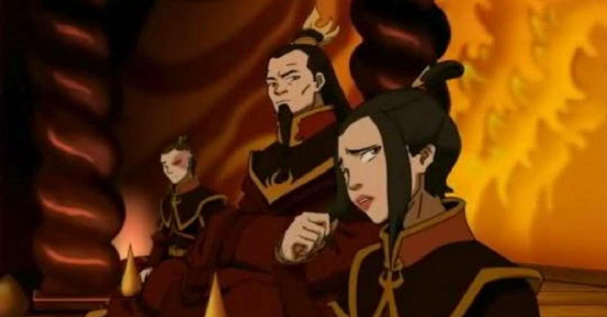 Fire Nation Family Reunion Avatar