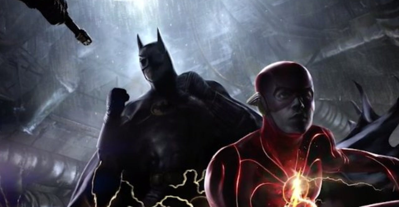 flash batman keaton concept header