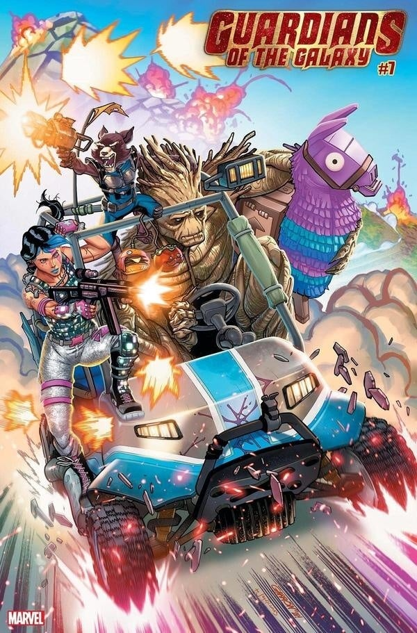 Fortnite Guardians of the Galaxy