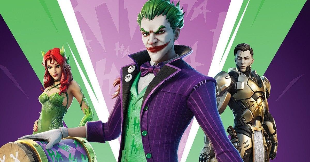 Fortnite Joker Poison Ivy DC Bundle