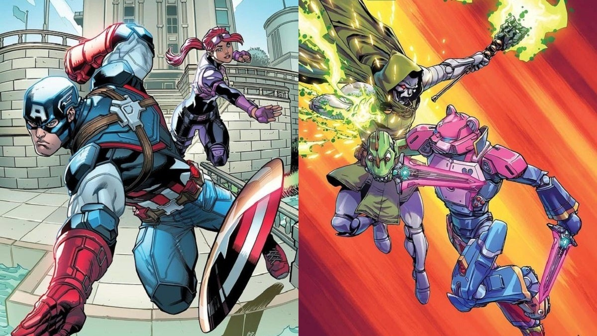 Fortnite Marvel Comic Covers