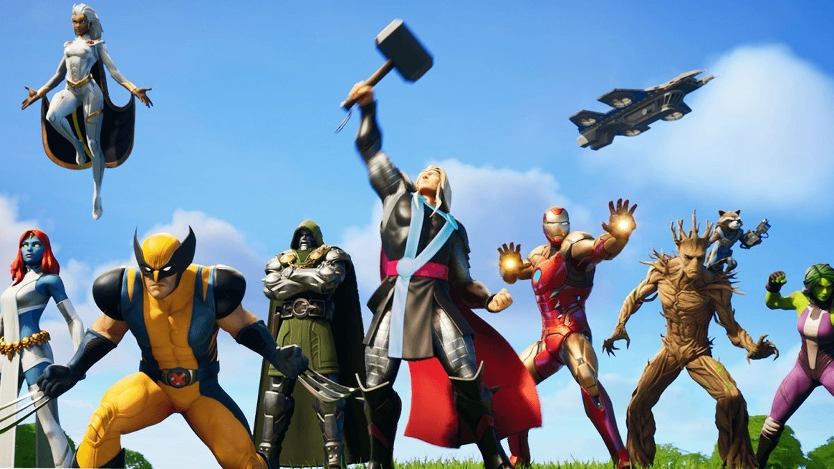 Fortnite Marvel Skins