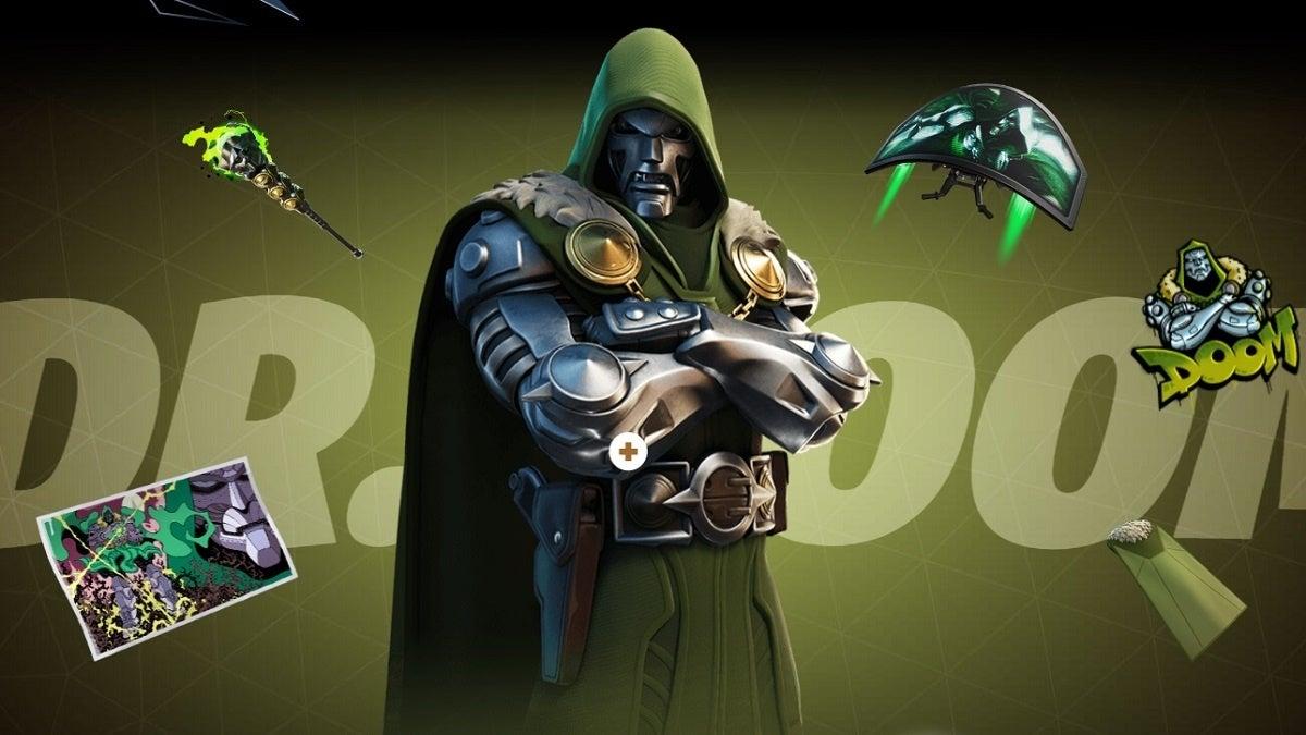 Fortnite Season 4 Dr Doom
