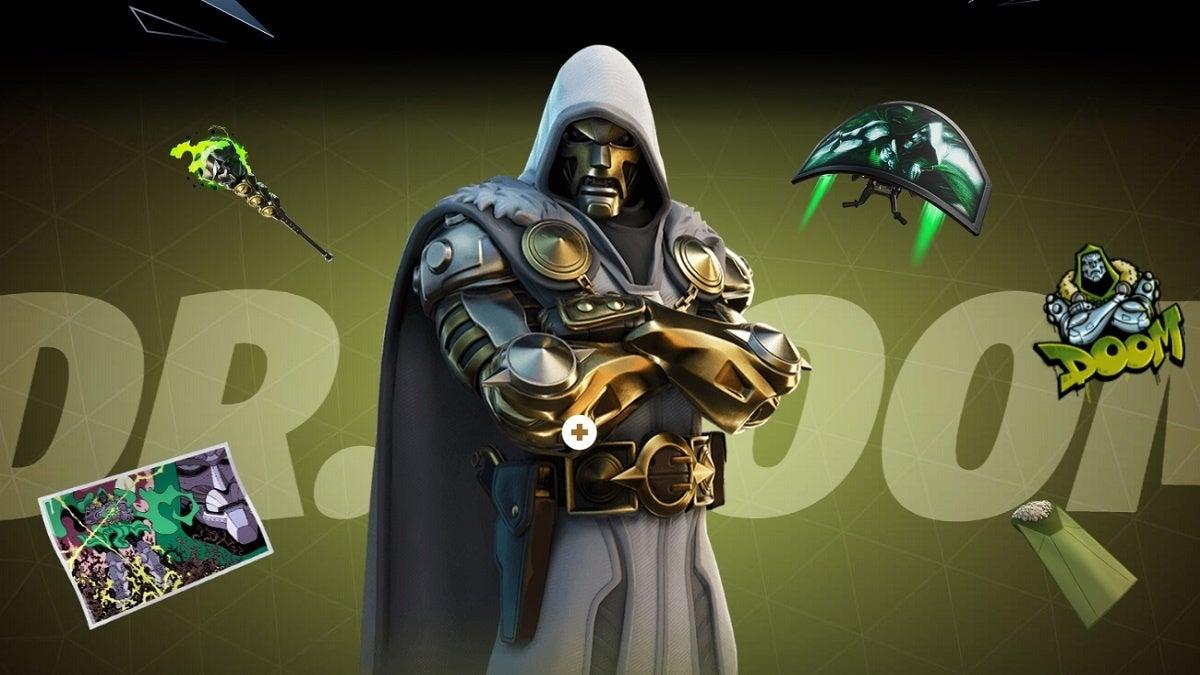 Fortnite Season 4 Dr Doom Style 2