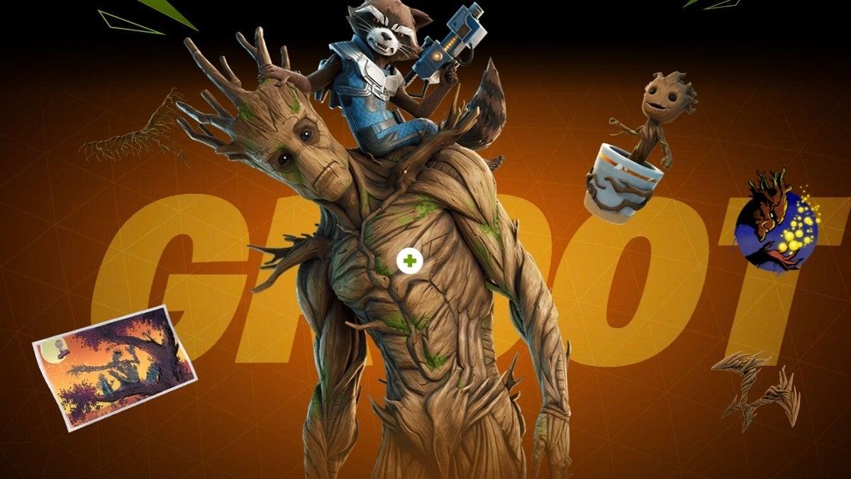 Fortnite Season 4 Groot