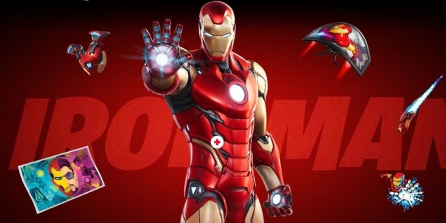 Fortnite Season 4 Iron Man