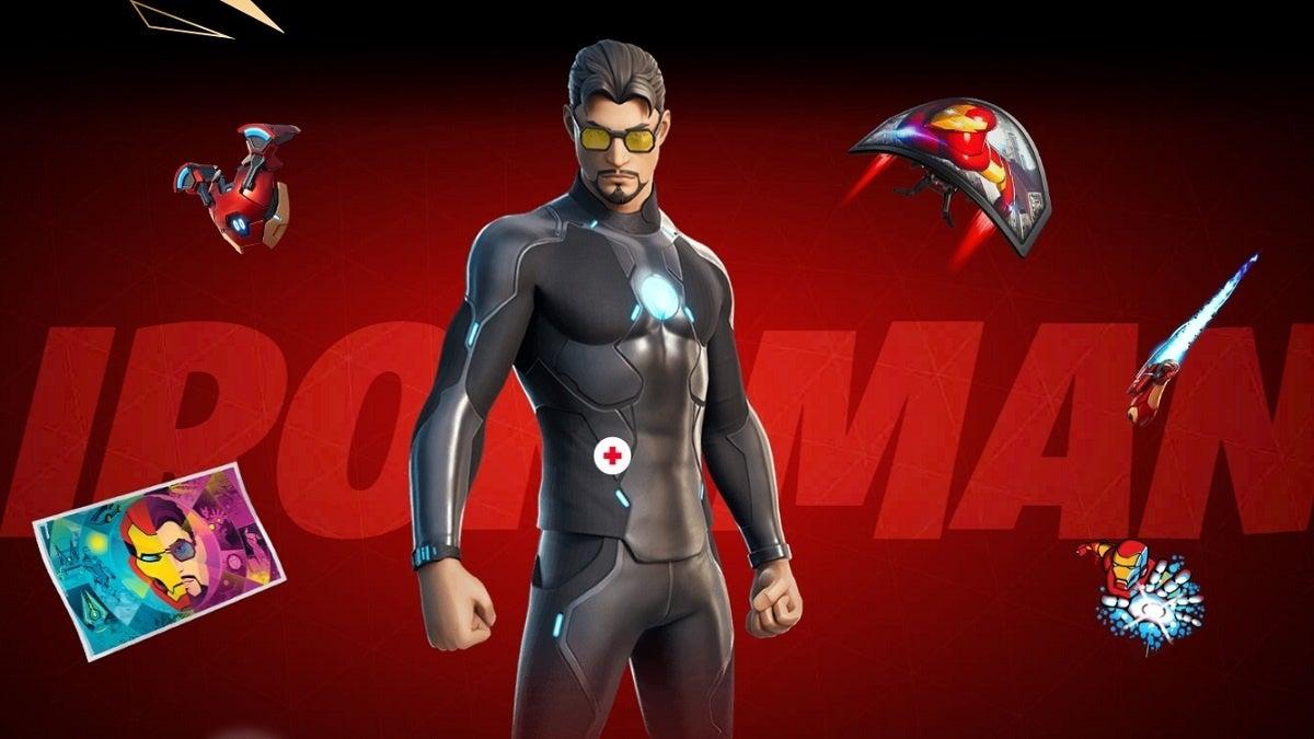 Fortnite Season 4 Iron Man Style 2