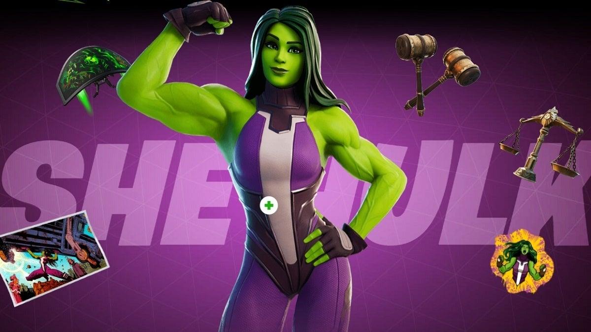 Fortnite Season 4 She-Hulk