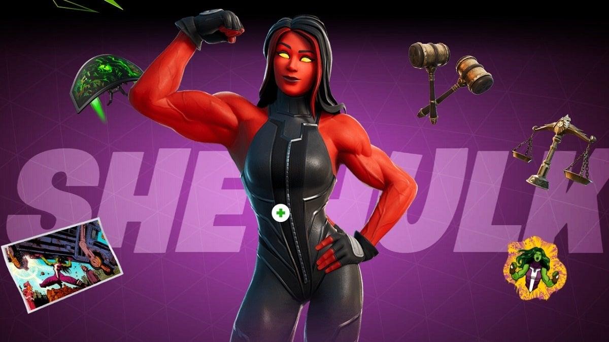 Fortnite Season 4 She-Hulk Style 2