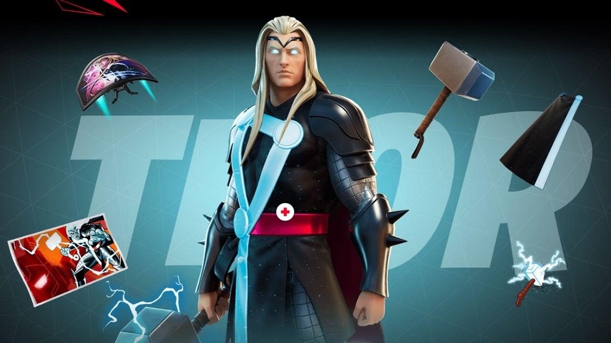 Fortnite Season 4 Thor