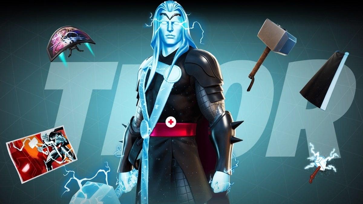 Fortnite Season 4 Thor Style 2